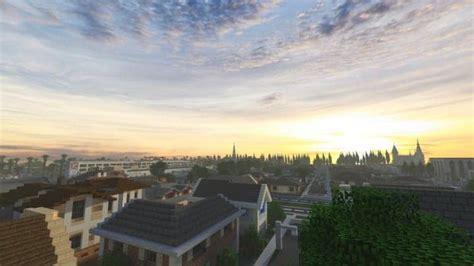 greenfield   realistic modern city  minecraft