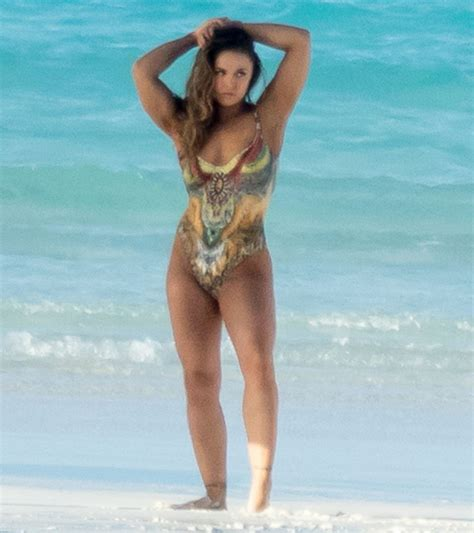 actress kate ronda ronda rousey in a painted on swimsuit mirror online