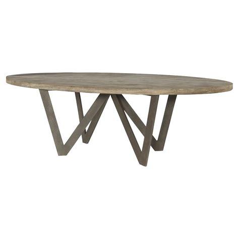 rustic outdoor dining table mr brown spider industrial rustic teak oval outdoor