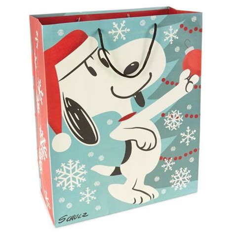 snoopy x large christmas gift bag the best presents for