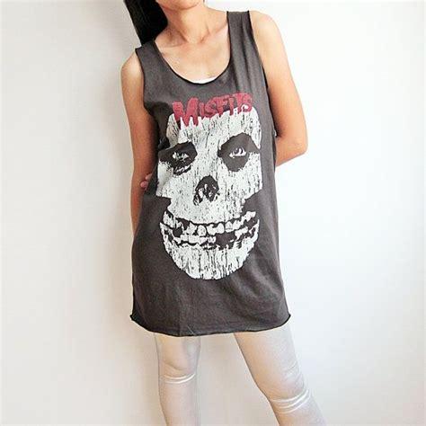 Misfits Skull Tank Top T Shirt Women Tshirt Size by ...