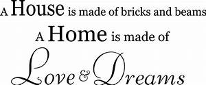 House Vs Home Quotes  Quotesgram