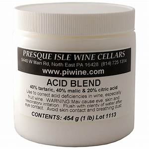 Acid Blend Powder | Wine making Supplies