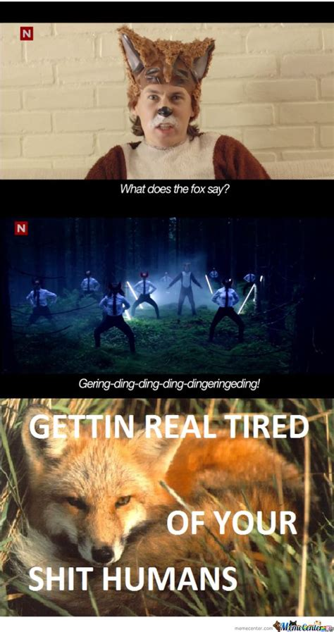 What Does The Fox Say Meme - what does the fox say what does the fox say meme center funny stuff pinterest