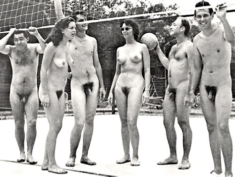 vintage nude swim team