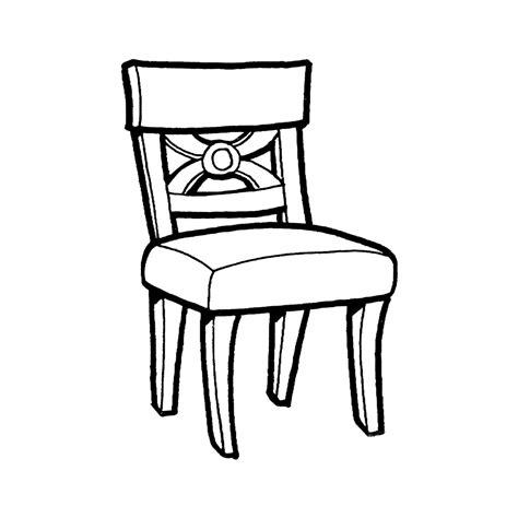 Stoel Kleurplaat leuk voor stoel