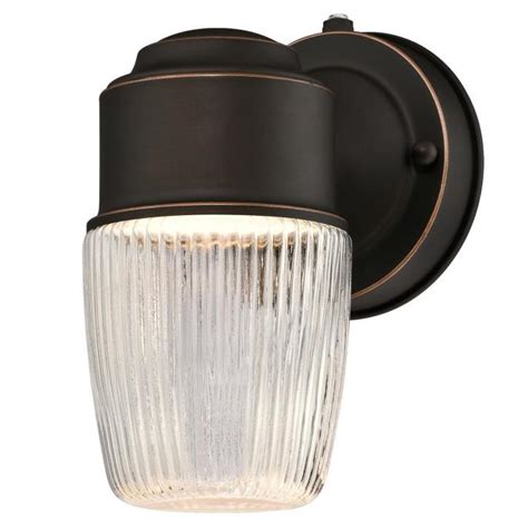 westinghouse one light led outdoor wall fixture with dusk