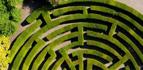 The Stansted Maze, a fun family attraction