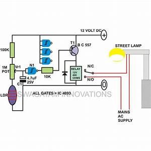 Day Night Switch Wiring Diagram 12v  4 Pin Wiring Diagram