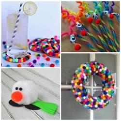 pom pom crafts for crafty morning