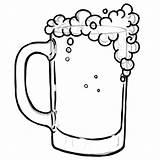 Beer Coloring Pages Getcolorings Printable Getdrawings sketch template