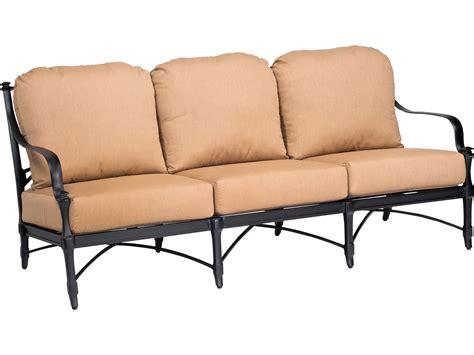 woodard isla replacement seat back cushion for sofa 4nw420