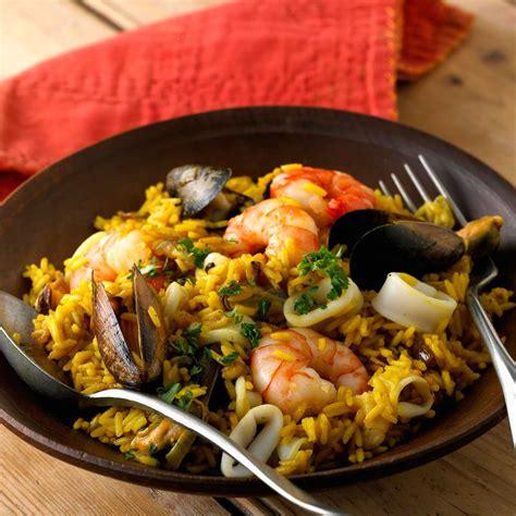 recette de cuisine espagnole paella espagnole recette sur cuisine actuelle