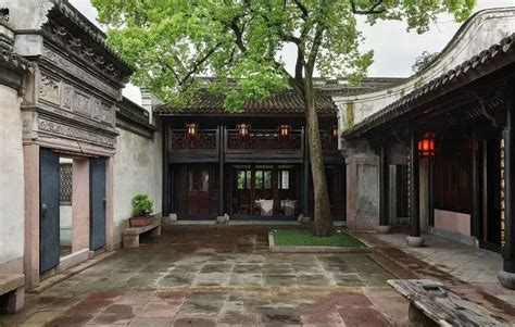 Traditional Chinese Courtyards  Garden Architektur