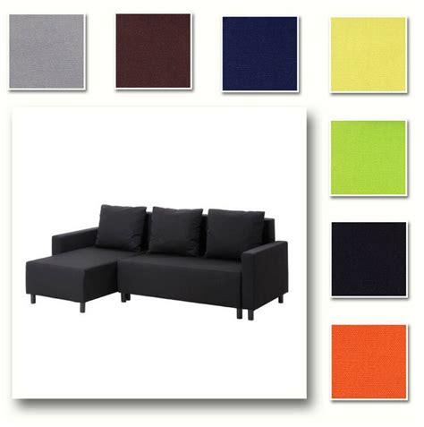 custom  cover fits ikea lugnvik sofa bed  chaise