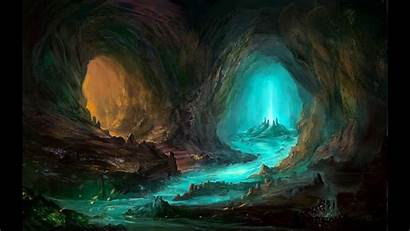 Cave Dark Fantasy Background Caves Cool Caverns