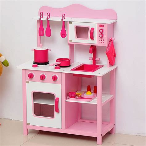 childrens play kitchen crafted from wood beautiful wooden toys and gifts