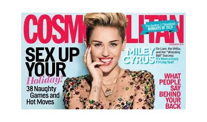 Cosmopolitan Cyrus Miley Magazine Cosmo Avec Liam