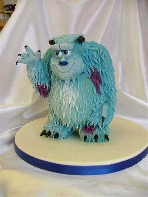 sully cake monsters   monsters  pinterest
