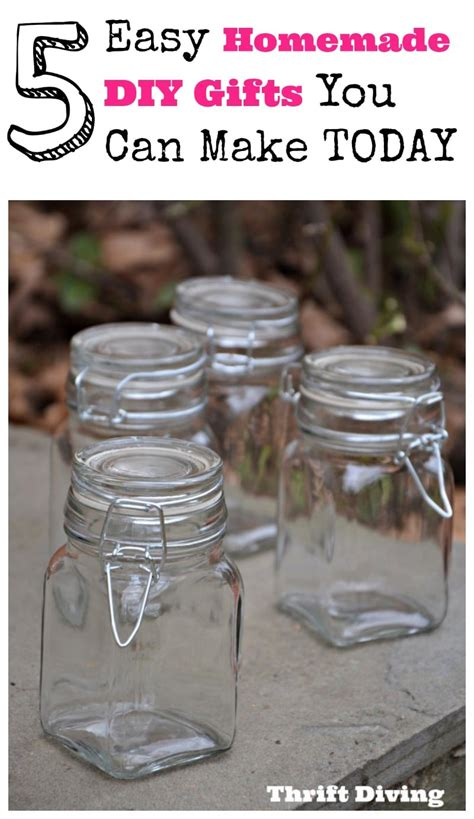 diy presents for 5 easy diy gift ideas you can make today thrift diving blog