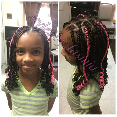 kids box braids styles by jasmia kids box braids kids
