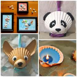 adorable seashell craft ideas for crafty morning