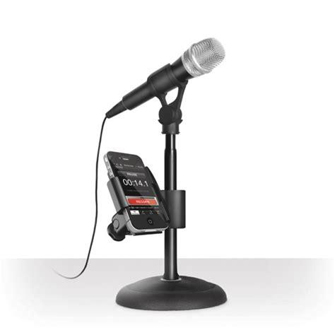 mini stand mikrofon universal ik multimedia iklip mini mic stand adaptor for iphone at