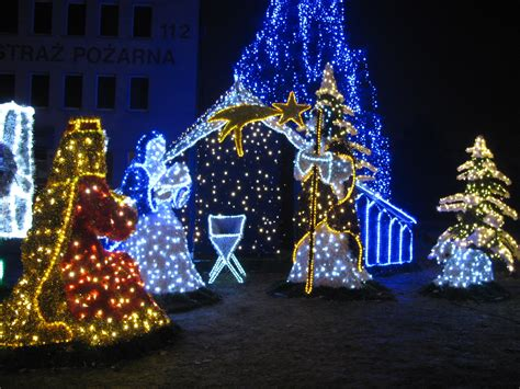 christmas exhibition in tarnow poland christmas photo