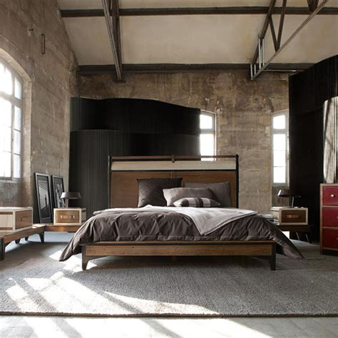 bedroom decor create a warm industrial living space amazing design for Industrial