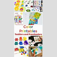 25+ Preschool Color Activities Printables  Learning Colors Printables  Natural Beach Living