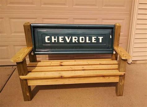 chevrolet stepside tailgate bench apartment pinterest