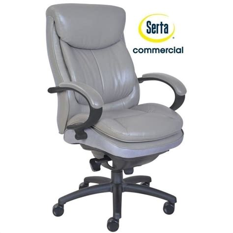 commercial 300 ergonomic leather executive office chair in