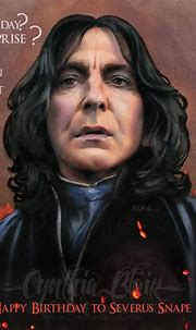 Happy Birthday Snape by Cynthia-Blair on DeviantArt