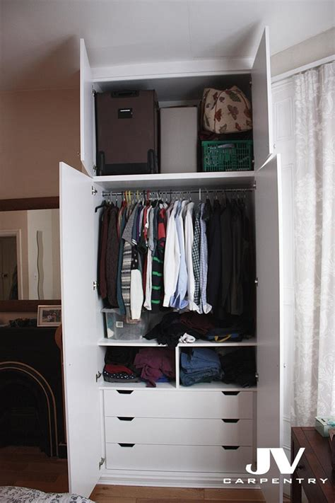 Wardrobe With Drawers And Hanging by Wardrobes Interior Layouts Jv Carpentry
