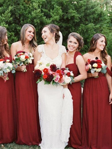 45 Deep Red Wedding Ideas For Fallwinter Weddings. Black Bridesmaid Dresses For Juniors. Chocolate Colored Wedding Dresses. Modest Wedding Dresses Canada. Chiffon Wedding Dresses Under 100. Berta Wedding Dresses Summer Edition. Vintage Lace Wedding Dresses With Keyhole Back. Victorian Tea Length Wedding Dresses. Royal Blue Wedding Guest Dresses