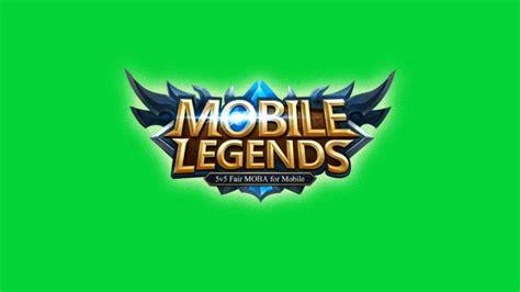 mobile legend logo mobile legend logo green screen gaming effect