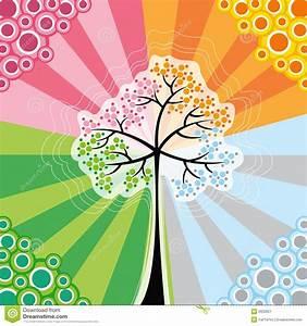 Achat Citronnier 4 Saisons : r tro arbre de bruit de 4 saisons image stock image 2832821 ~ Premium-room.com Idées de Décoration
