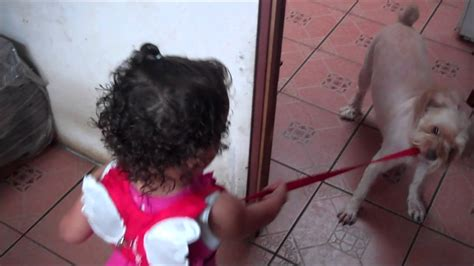 Chiquita Cuidando Mascota Youtube