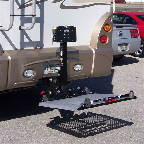 harmar al300rv power wheelchair lift for rvs 350 lb