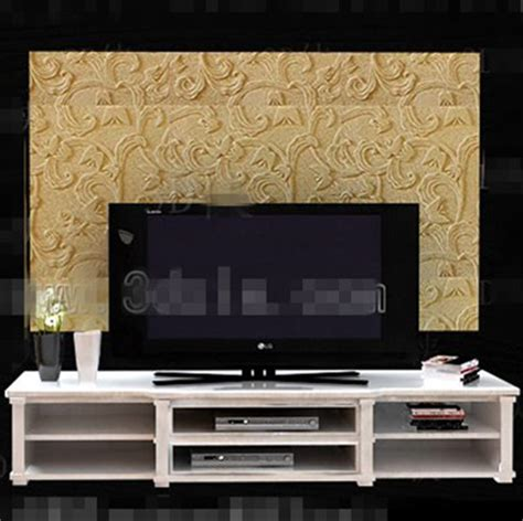 modern white double layer tv cabinet  model