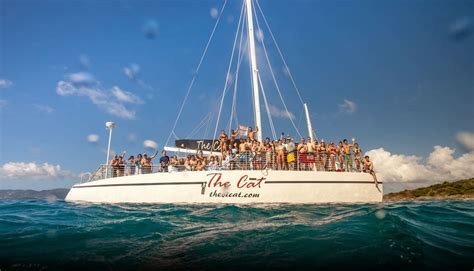 Catamaran Cruise St Thomas by Welcome To The Vi Cat Catamaran Sailing Snorkel Dinner