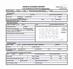 12  Sample Accident Report Templates