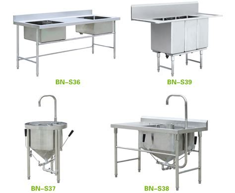 Outdoor Stainless Steel Kitchen Sink With Drain Board Bn