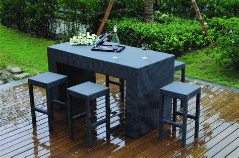 table de salon de jardin haut de gamme