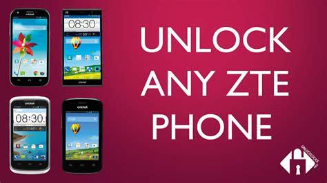 can cricket phones be unlocked how to unlock cricket wireless zte fanfare by unlock code