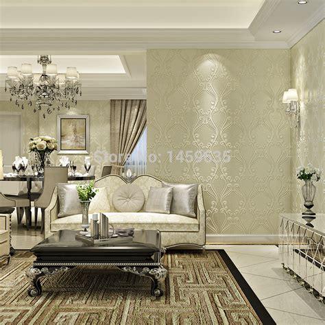 Wohnzimmer Neu Tapezieren by Luxury Living Room Wallpaper Gallery