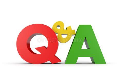 question  answer stock illustration image  design