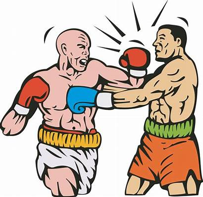 Boxing Punch Clipart Mayweather Clip Punched Illustration