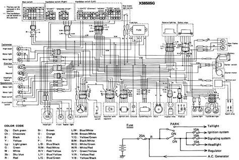 Wiring Diagram Xs650