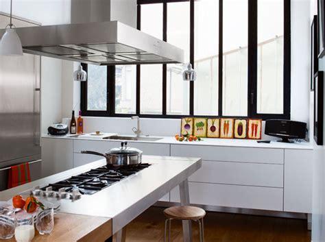 cuisine avec verriere 10 cuisines ultra lumineuses décoration
